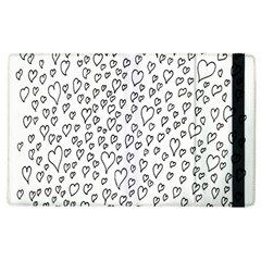 Heart Doddle Apple Ipad 3/4 Flip Case by Mariart