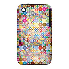 Circle Rainbow Polka Dots Iphone 3s/3gs by Mariart