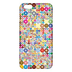 Circle Rainbow Polka Dots Iphone 6 Plus/6s Plus Tpu Case by Mariart