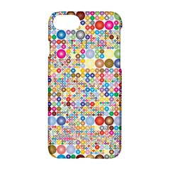 Circle Rainbow Polka Dots Apple Iphone 7 Hardshell Case by Mariart