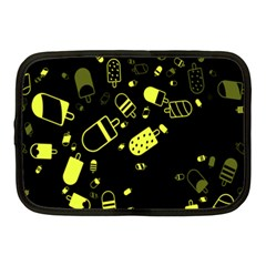 Ice Cream Cool Yellow Netbook Case (medium)  by Mariart