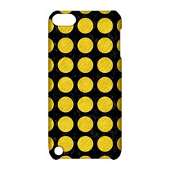 Circles1 Black Marble & Yellow Colored Pencil (r) Apple Ipod Touch 5 Hardshell Case With Stand by trendistuff