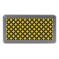 Circles3 Black Marble & Yellow Colored Pencil Memory Card Reader (mini) by trendistuff