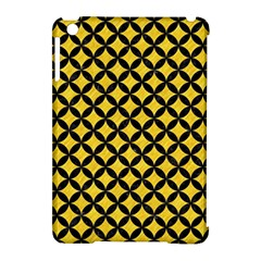 Circles3 Black Marble & Yellow Colored Pencil Apple Ipad Mini Hardshell Case (compatible With Smart Cover) by trendistuff