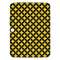 Circles3 Black Marble & Yellow Colored Pencil Samsung Galaxy Tab 3 (10 1 ) P5200 Hardshell Case  by trendistuff