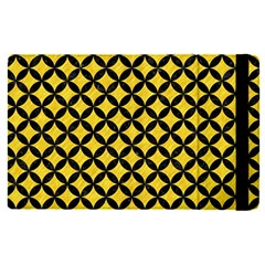 Circles3 Black Marble & Yellow Colored Pencil Apple Ipad Pro 9 7   Flip Case by trendistuff