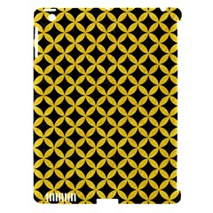 Circles3 Black Marble & Yellow Colored Pencil (r) Apple Ipad 3/4 Hardshell Case (compatible With Smart Cover) by trendistuff