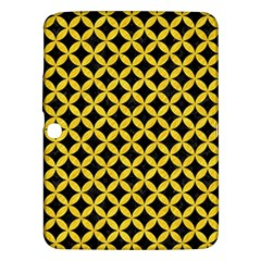 Circles3 Black Marble & Yellow Colored Pencil (r) Samsung Galaxy Tab 3 (10 1 ) P5200 Hardshell Case  by trendistuff