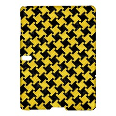Houndstooth2 Black Marble & Yellow Colored Pencil Samsung Galaxy Tab S (10 5 ) Hardshell Case