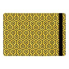 Hexagon1 Black Marble & Yellow Colored Pencil Apple Ipad Pro 10 5   Flip Case by trendistuff