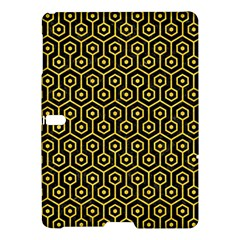 Hexagon1 Black Marble & Yellow Colored Pencil (r) Samsung Galaxy Tab S (10 5 ) Hardshell Case  by trendistuff
