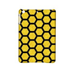 Hexagon2 Black Marble & Yellow Colored Pencil Ipad Mini 2 Hardshell Cases by trendistuff
