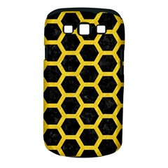 Hexagon2 Black Marble & Yellow Colored Pencil (r) Samsung Galaxy S Iii Classic Hardshell Case (pc+silicone) by trendistuff
