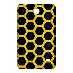 Hexagon2 Black Marble & Yellow Colored Pencil (r) Samsung Galaxy Tab 4 (8 ) Hardshell Case  by trendistuff