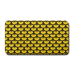Scales3 Black Marble & Yellow Colored Pencil Medium Bar Mats