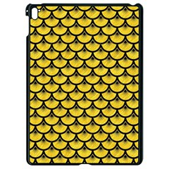 Scales3 Black Marble & Yellow Colored Pencil Apple Ipad Pro 9 7   Black Seamless Case by trendistuff