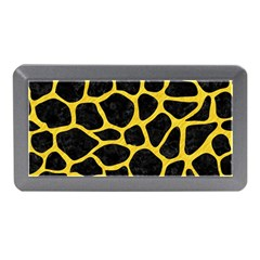 Skin1 Black Marble & Yellow Colored Pencil Memory Card Reader (mini) by trendistuff