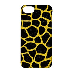 Skin1 Black Marble & Yellow Colored Pencil Apple Iphone 8 Hardshell Case
