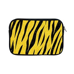 Skin3 Black Marble & Yellow Colored Pencil Apple Ipad Mini Zipper Cases by trendistuff