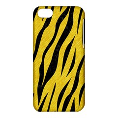 Skin3 Black Marble & Yellow Colored Pencil Apple Iphone 5c Hardshell Case by trendistuff