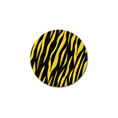 Skin3 Black Marble & Yellow Colored Pencil (r) Golf Ball Marker (10 Pack) by trendistuff