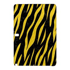 Skin3 Black Marble & Yellow Colored Pencil (r) Samsung Galaxy Tab Pro 10 1 Hardshell Case