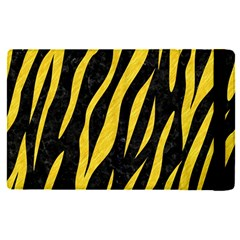 Skin3 Black Marble & Yellow Colored Pencil (r) Apple Ipad Pro 9 7   Flip Case by trendistuff