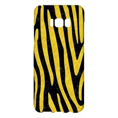 Skin4 Black Marble & Yellow Colored Pencil Samsung Galaxy S8 Plus Hardshell Case  by trendistuff