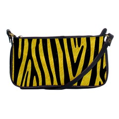 Skin4 Black Marble & Yellow Colored Pencil (r) Shoulder Clutch Bags by trendistuff