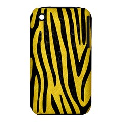 Skin4 Black Marble & Yellow Colored Pencil (r) Iphone 3s/3gs by trendistuff