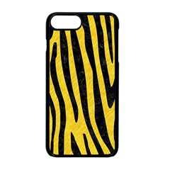 Skin4 Black Marble & Yellow Colored Pencil (r) Apple Iphone 8 Plus Seamless Case (black) by trendistuff