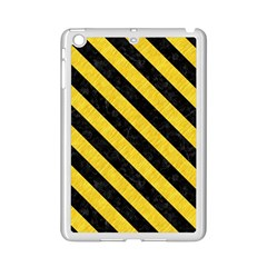 Stripes3 Black Marble & Yellow Colored Pencil Ipad Mini 2 Enamel Coated Cases by trendistuff
