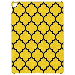 Tile1 Black Marble & Yellow Colored Pencil Apple Ipad Pro 12 9   Hardshell Case