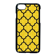 Tile1 Black Marble & Yellow Colored Pencil Apple Iphone 8 Seamless Case (black) by trendistuff