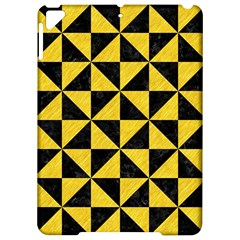 Triangle1 Black Marble & Yellow Colored Pencil Apple Ipad Pro 9 7   Hardshell Case by trendistuff