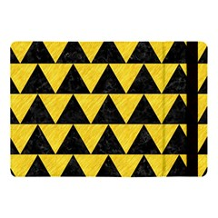 Triangle2 Black Marble & Yellow Colored Pencil Apple Ipad Pro 10 5   Flip Case by trendistuff