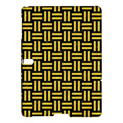 Woven1 Black Marble & Yellow Colored Pencil (r) Samsung Galaxy Tab S (10 5 ) Hardshell Case