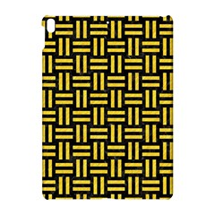 Woven1 Black Marble & Yellow Colored Pencil (r) Apple Ipad Pro 10 5   Hardshell Case by trendistuff