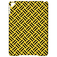 Woven2 Black Marble & Yellow Colored Pencil Apple Ipad Pro 9 7   Hardshell Case by trendistuff