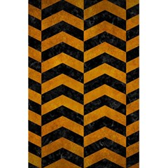 Chevron2 Black Marble & Yellow Grunge 5 5  X 8 5  Notebooks by trendistuff