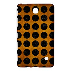 Circles1 Black Marble & Yellow Grunge Samsung Galaxy Tab 4 (8 ) Hardshell Case  by trendistuff