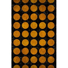Circles1 Black Marble & Yellow Grunge (r) 5 5  X 8 5  Notebooks by trendistuff