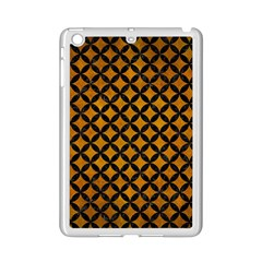 Circles3 Black Marble & Yellow Grunge Ipad Mini 2 Enamel Coated Cases by trendistuff