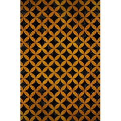 Circles3 Black Marble & Yellow Grunge (r) 5 5  X 8 5  Notebooks by trendistuff