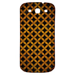 Circles3 Black Marble & Yellow Grunge (r) Samsung Galaxy S3 S Iii Classic Hardshell Back Case by trendistuff