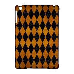 Diamond1 Black Marble & Yellow Grunge Apple Ipad Mini Hardshell Case (compatible With Smart Cover) by trendistuff