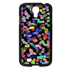 Colorful Paint Strokes On A Black Background                          Sony Xperia V Hardshell Case by LalyLauraFLM