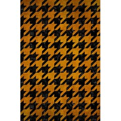 Houndstooth1 Black Marble & Yellow Grunge 5 5  X 8 5  Notebooks by trendistuff