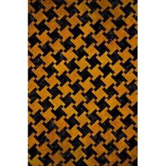 Houndstooth2 Black Marble & Yellow Grunge 5 5  X 8 5  Notebooks by trendistuff