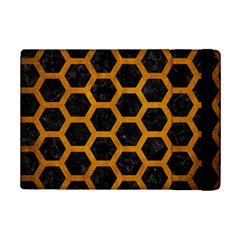 Hexagon2 Black Marble & Yellow Grunge (r) Ipad Mini 2 Flip Cases by trendistuff